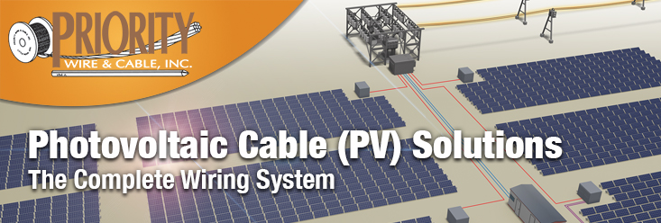 Photovoltaic Cable (PV) or Solar Cable
